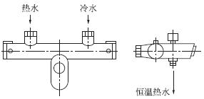 恒温淋浴龙头原理_恒温阀芯原理结构图_恒温阀芯原理结构图分享展示