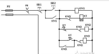 星三角二次回路控制电路图-1761 CBL PM02供应图片