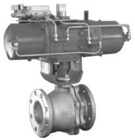 """气动""""O""""型切断阀在PU树脂生产中控制称重的应用"""