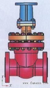 核二级电动闸阀抗震分析