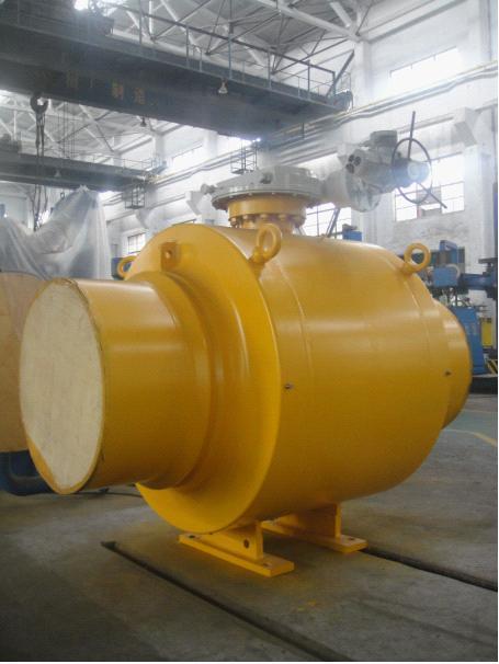 四川飞球集团成功制造出大口径全焊接管线锻钢球阀