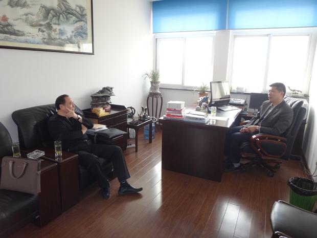 江蘇閥協新理事長單位走訪常州和鎮江兩片閥門等廠家