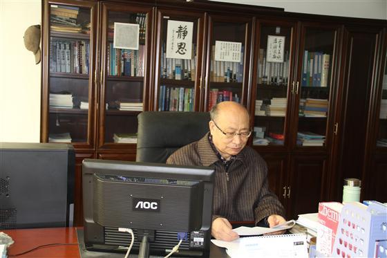 """他同""""科技宣达""""一路走来—记宣达研究院首席研究员刘焕安教授"""