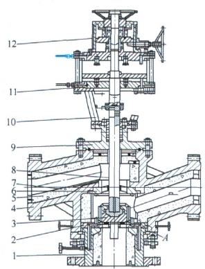 高压超高温三通换向阀的研制和应用