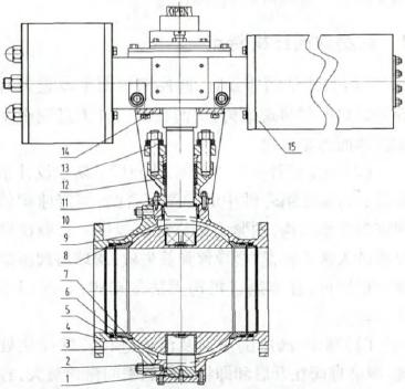 PTA裝置用耐磨球閥研制
