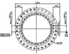 大規格蝶閥體軸孔同軸度的檢測方法探討