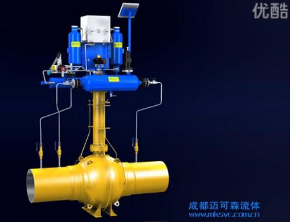 DGOA系列氣液聯動執行器【成都邁可森流體】
