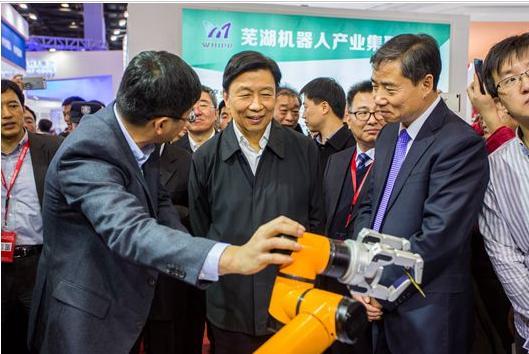 """李源潮副主席勉励盾安环境要在""""中国制造2025""""的进程中发挥更大的作用"""