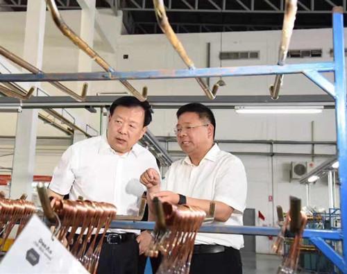 浙江省委书记夏宝龙一行考察盾安泰国公司
