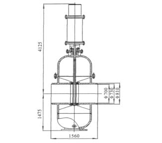 液动平板闸阀的设计与探讨