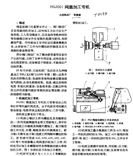 FGJ001閥蓋加工專機