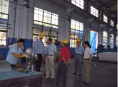 美國Chart公司和英國Costain公司訪問考察成都川空閥門有限公司