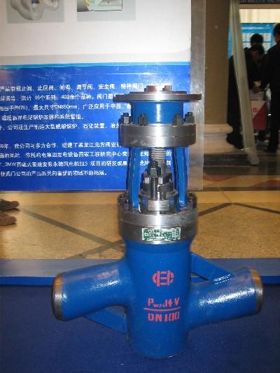 国内首次将锻造、焊接技术应用到电站截止阀