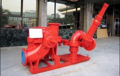 扬州国泰单级双吸离心式消防泵