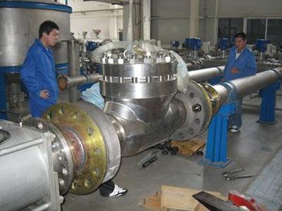 亨利公司圆满完成对外核级产品的测试