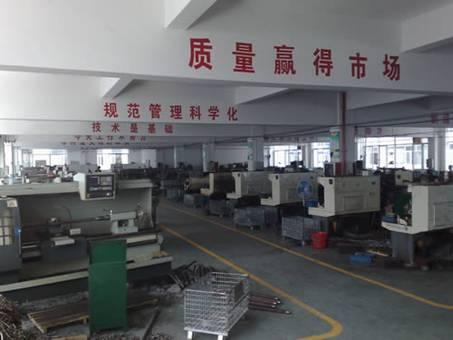 温州志远阀门公司阀杆生产线正式投产