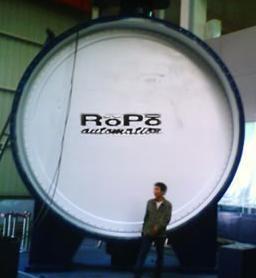 德国ROPO公司成功研制世界上最大蝶阀