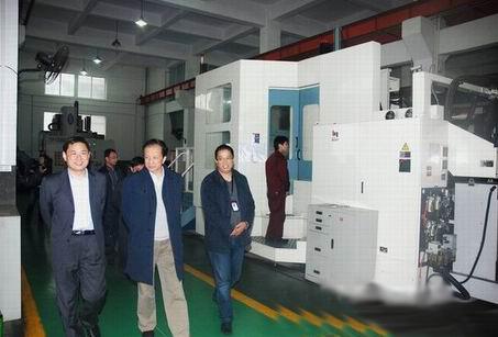 中国通用机械工业协会会长隋永滨一行视察保一集团