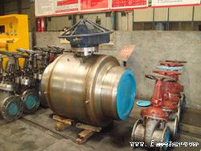 保一阀门开发成功全焊接国产化管线球阀