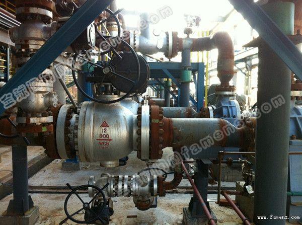 C型耐磨球阀在煤气化装置上的应用
