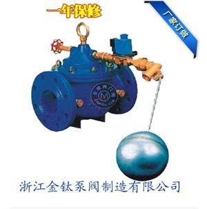 106X電動遙控浮球閥(水力控制閥)