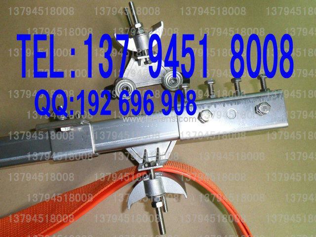 C30行车配件,电缆滑轨滑车,末端夹固定码接头滑轨