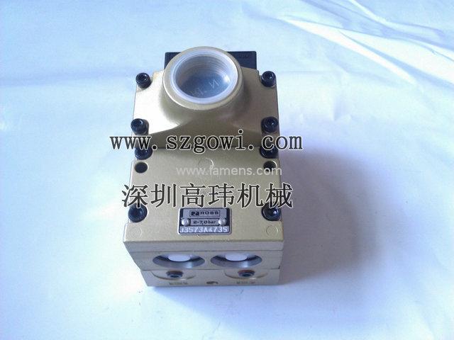 沖床原裝美國ROSS雙聯電磁閥J3573A4735,ROSS代理商
