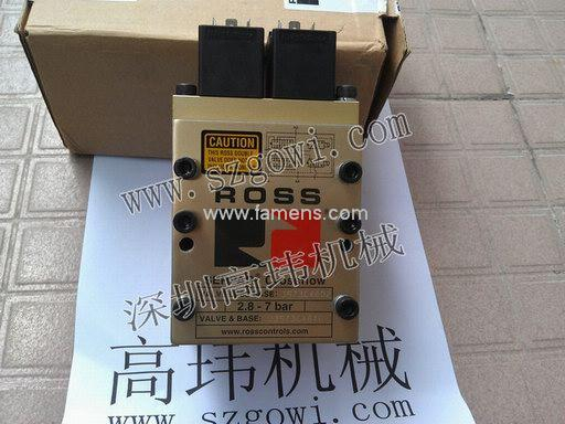 有现货美国原装ROSS电磁阀J3573B4640 J3573B4602 110V/220V/24V