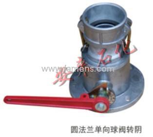 供应Q41F铝合金单向转阴球阀 DN80铝球阀