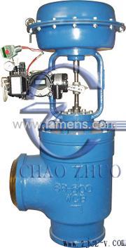 ZHAS气动角形焊接调节阀结构