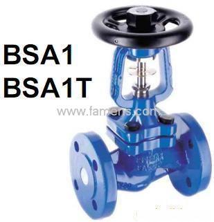斯派莎克波紋管截止閥BSA1、BSA2、BSA3