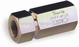 Snap-Tite CPIFF系列液压止回阀