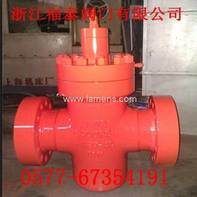 PFF103/35鑄鋼平板閘閥/5000PIS鑄造平板閥
