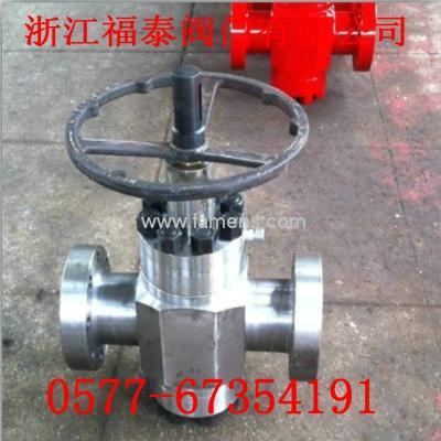 PFF52/70高壓鍛鋼平板閥/10000PSI平板閥