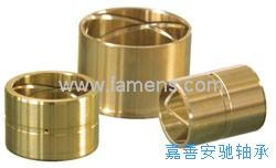 油沟铜衬套 含油铜套 自润滑轴承 油槽铜套