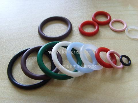 小规格透明硅胶o型圈 进口高温环保密封圈