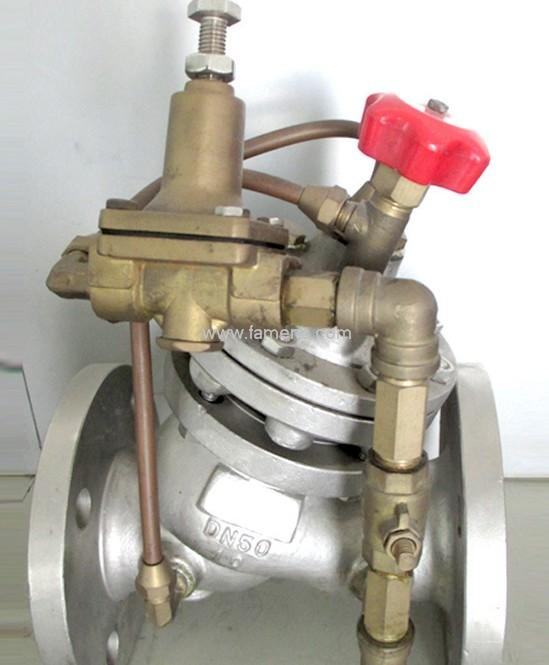 YX741X-16P不锈钢可调式减压稳压阀