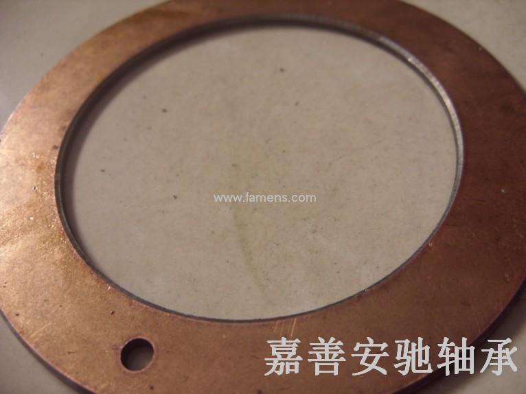 复合止推垫片 无给油轴承 钢基垫圈 自润滑垫片