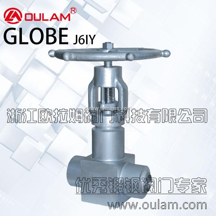 对焊电站截止阀/高压电站截止阀J6IY型