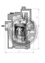 不锈钢倒筒式蒸汽疏水阀741.780系列