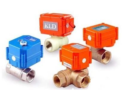 KLD20系列立式三通电动球阀