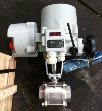 IQTC电动调节球阀