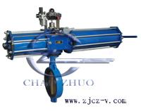 D671J气动衬胶蝶阀