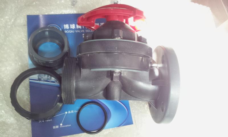 电解非标FRPP隔膜阀