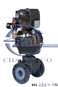 G6B41F气动常闭(开)型调节隔膜阀
