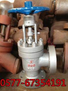 L/J47Y高壓角式平衡節流閥