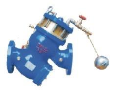 YQ98003型过滤活塞式遥控浮动球阀