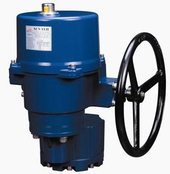 OM-11 90度转 电动执行器