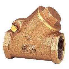 东光FIG.329-RING炮金铜Y型逆止阀,东光止回阀