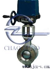 ZJKV电动V型调节球阀